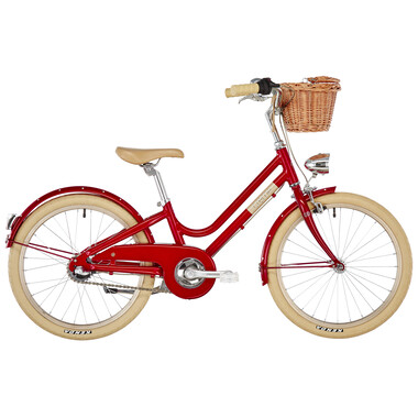 "Vélo Hollandais CREME MINI MOLLY 20"" Rouge 2020"
